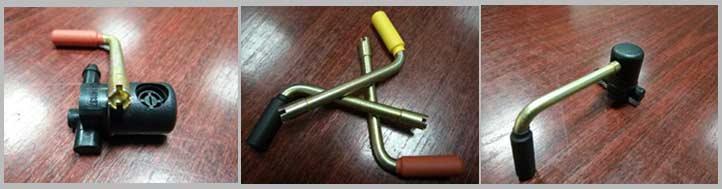 Ключи для регулировки веерных форсунок омывателя лобового стекла Opel Insignia
